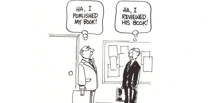 Book reviews are an important feedback to novelists