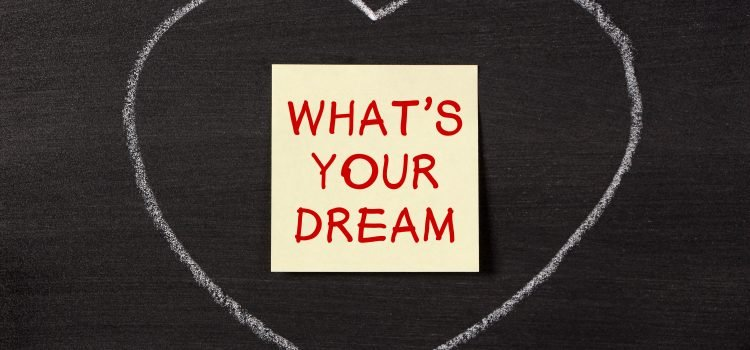 What is your dream as an author
